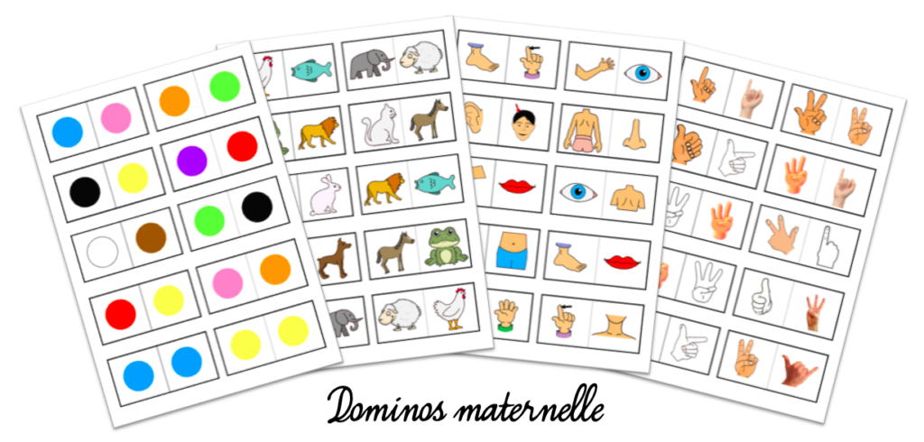 dominos maternelle