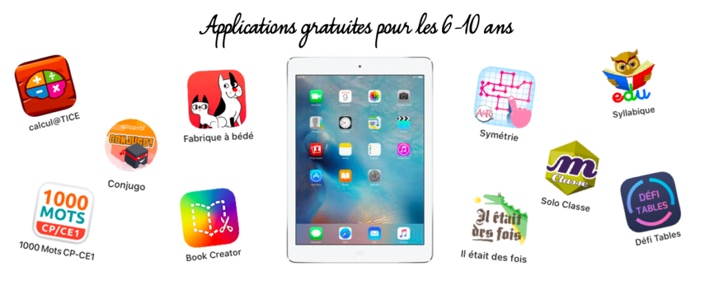 applications enfants