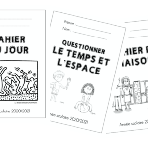 pages de garde cahiers
